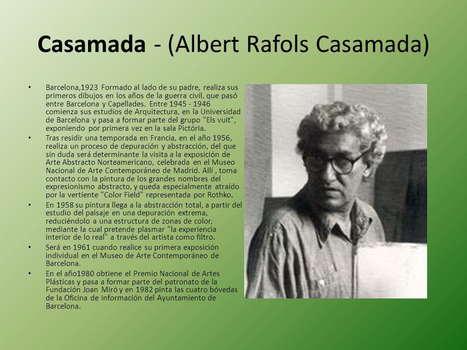 Casamada - (Albert Rafols Casamada)