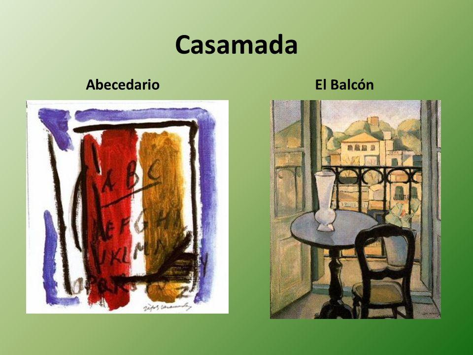 Casamada Abecedario El Balcón