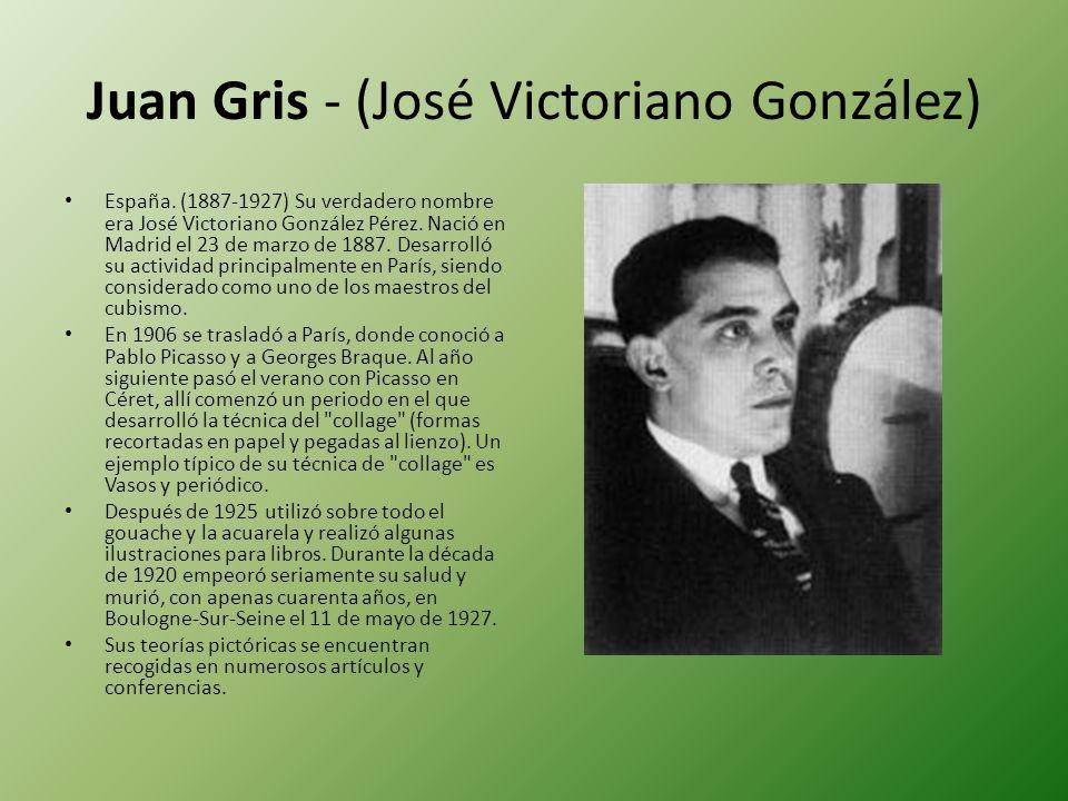 Juan Gris - (José Victoriano González)