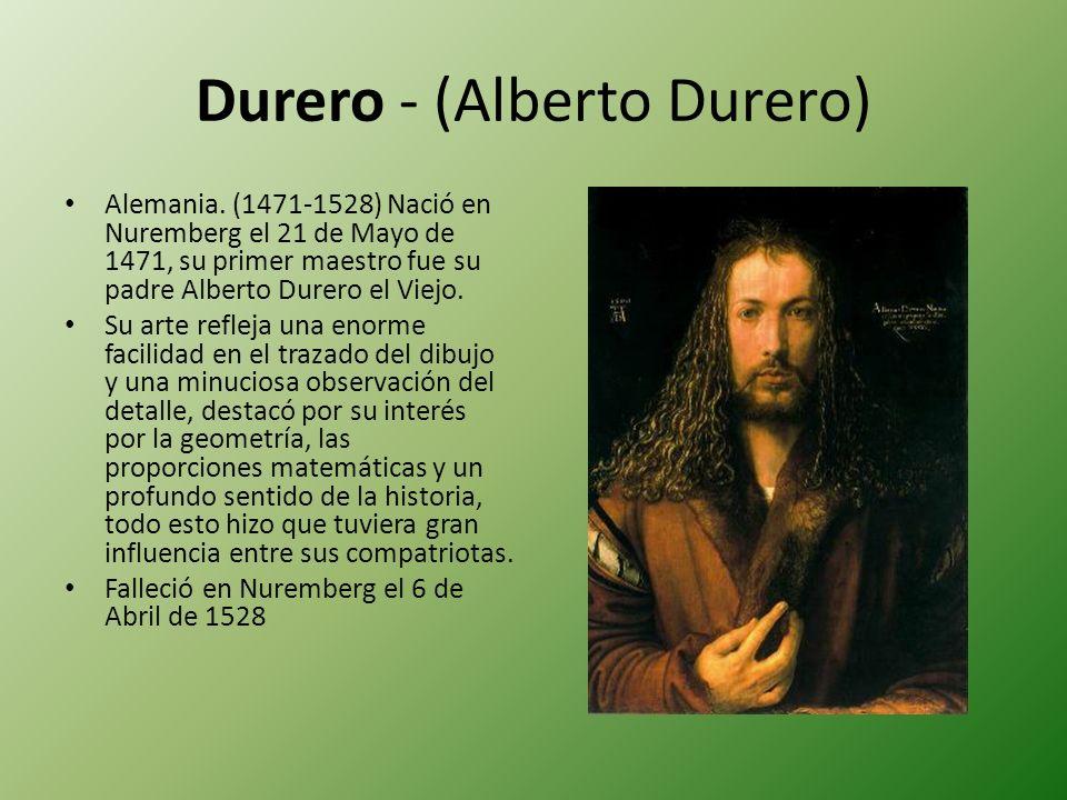 Durero - (Alberto Durero)