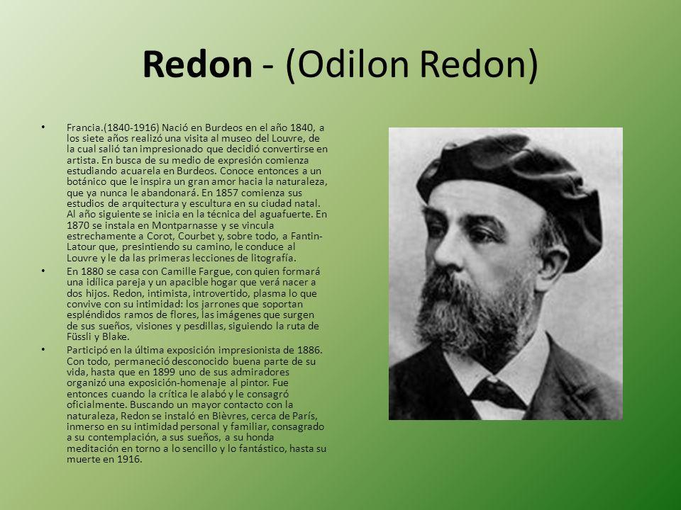 Redon - (Odilon Redon)
