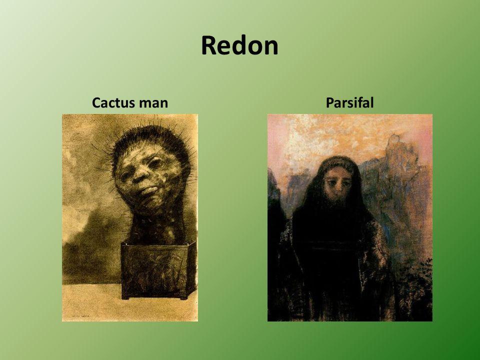 Redon Cactus man Parsifal