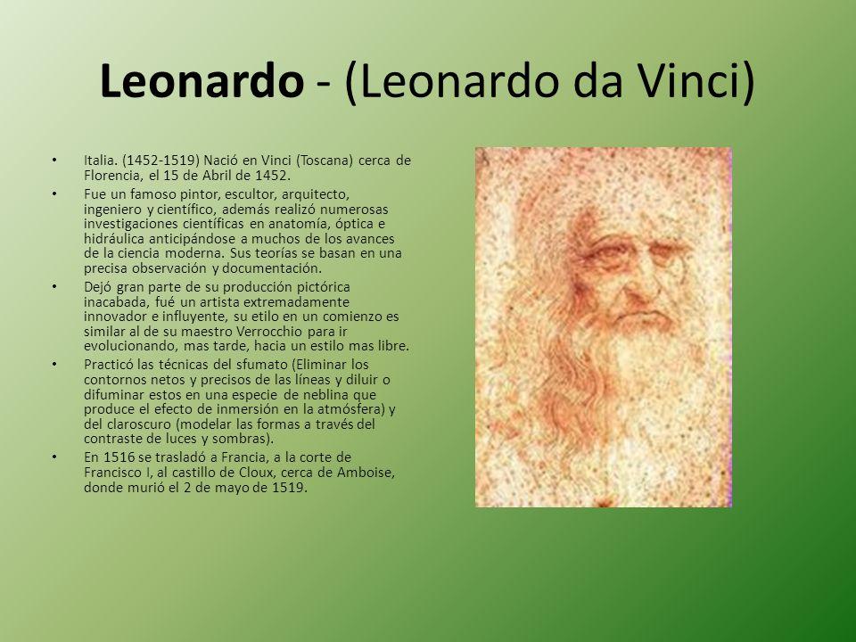 Leonardo - (Leonardo da Vinci)