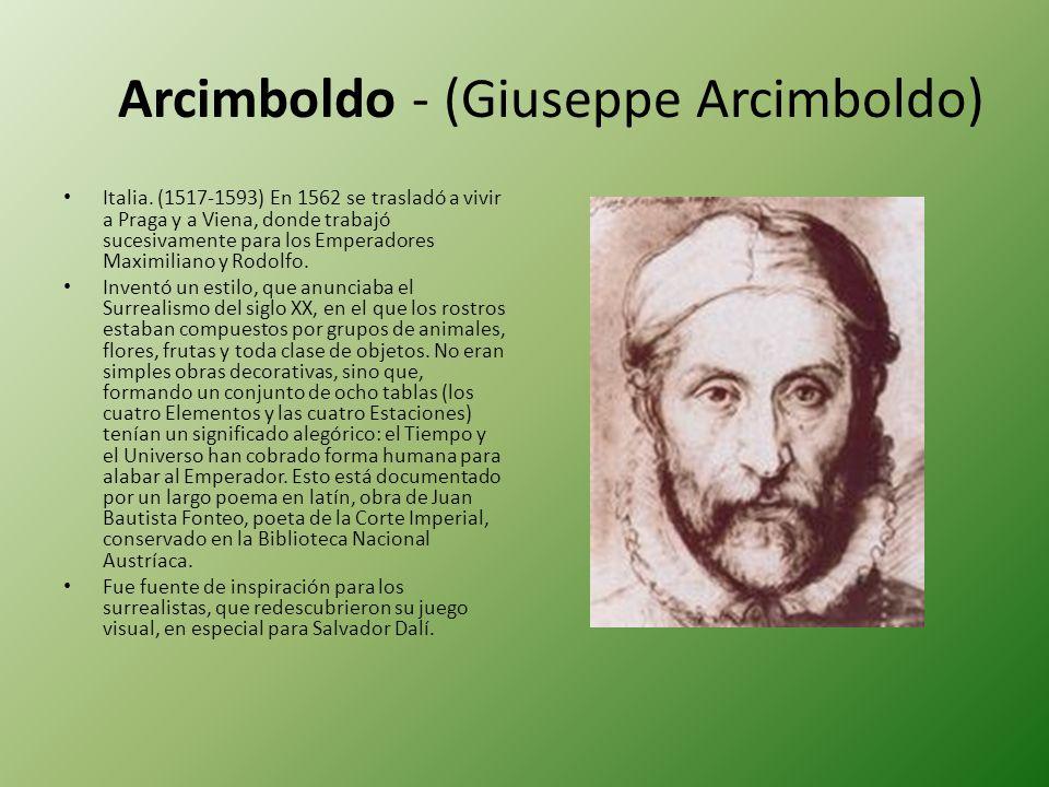 Arcimboldo - (Giuseppe Arcimboldo)