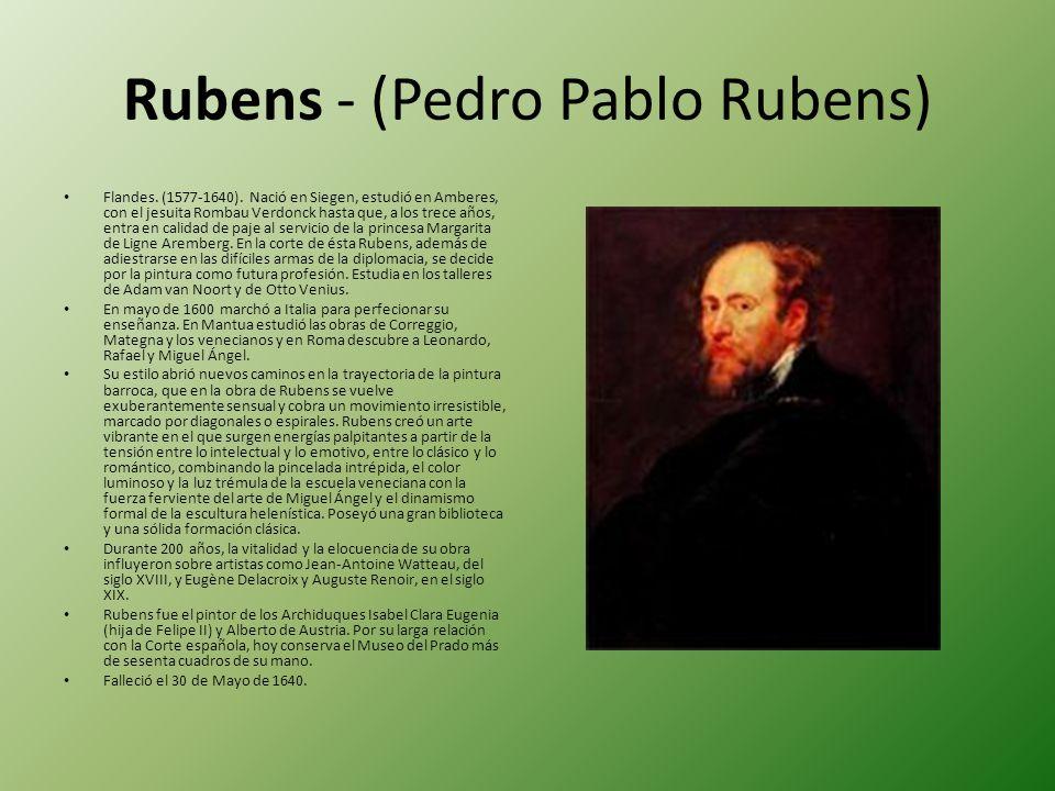 Rubens - (Pedro Pablo Rubens)