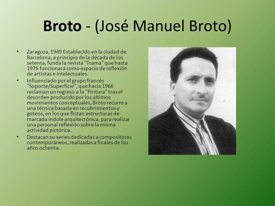 Broto - (José Manuel Broto)