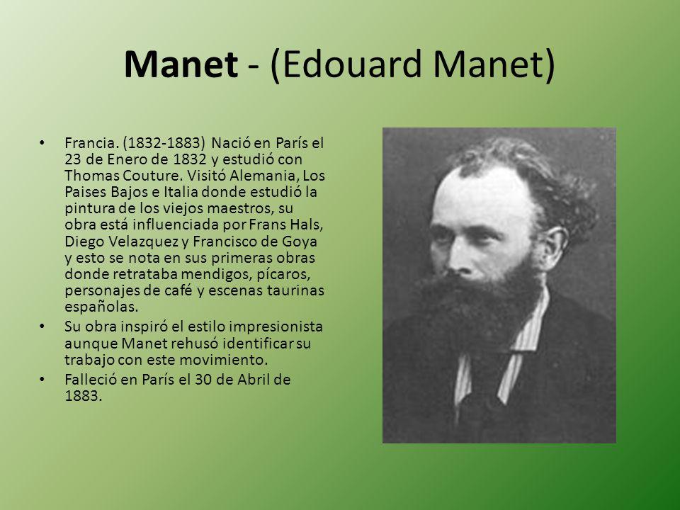 Manet - (Edouard Manet)