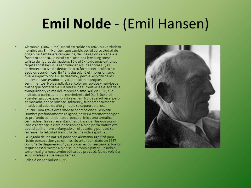 Emil Nolde - (Emil Hansen)