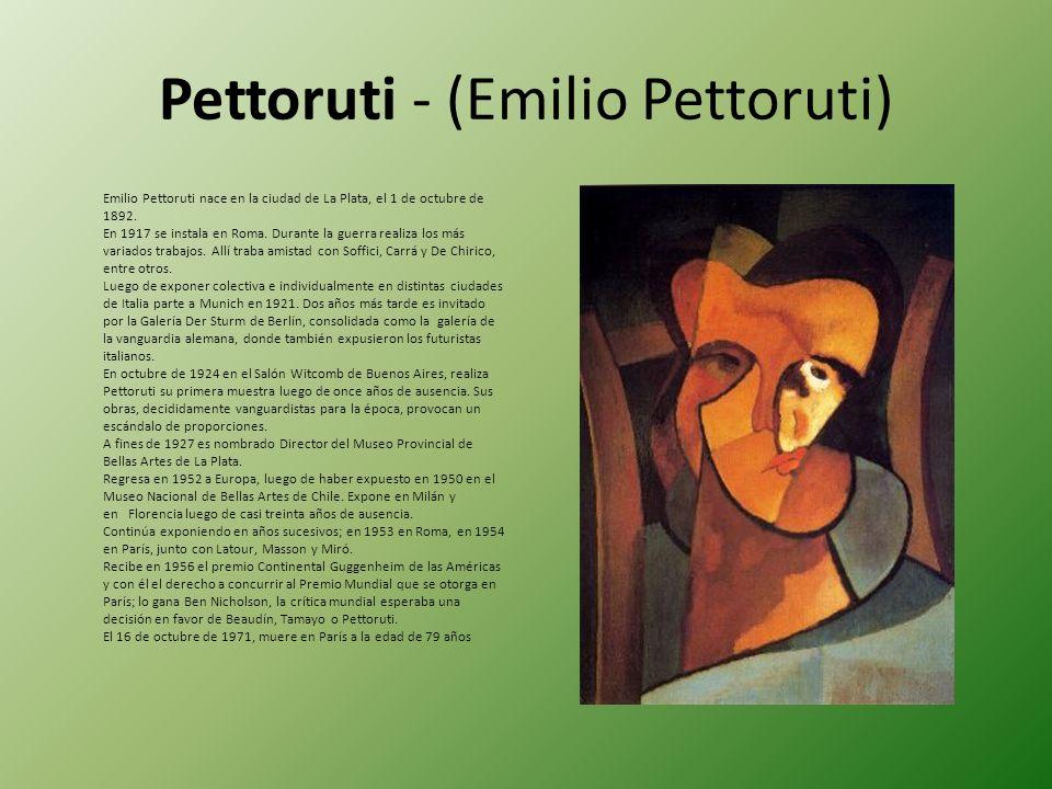 Pettoruti - (Emilio Pettoruti)