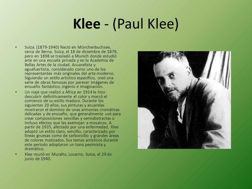 Klee - (Paul Klee)