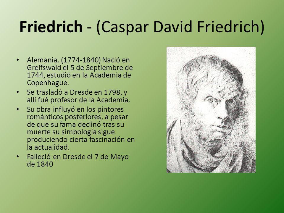 Friedrich - (Caspar David Friedrich)