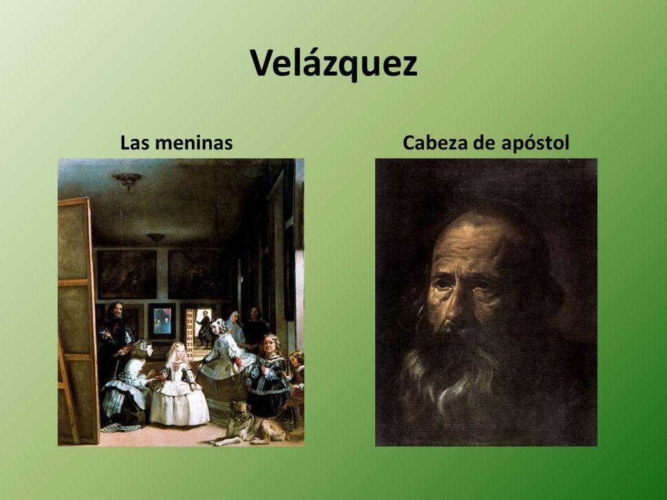 Velázquez Las meninas Cabeza de apóstol