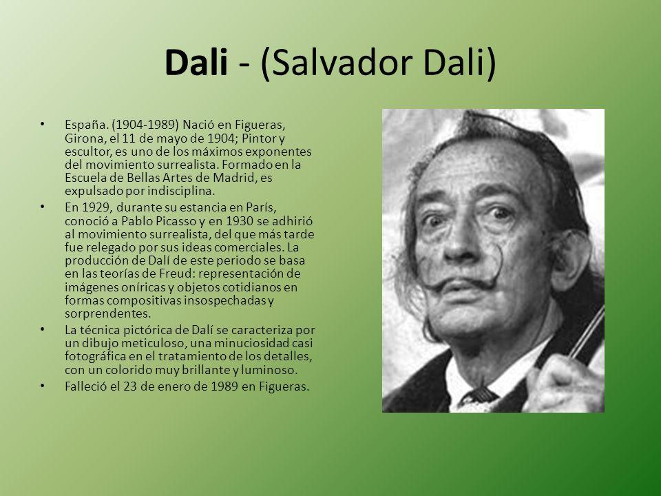 Dali - (Salvador Dali)