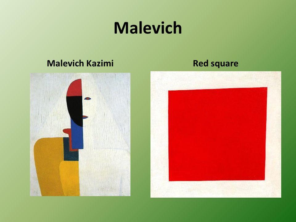 Malevich Malevich Kazimi Red square