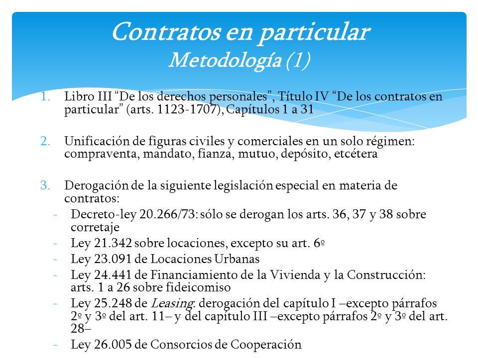 Contratos en particular Metodología (1)