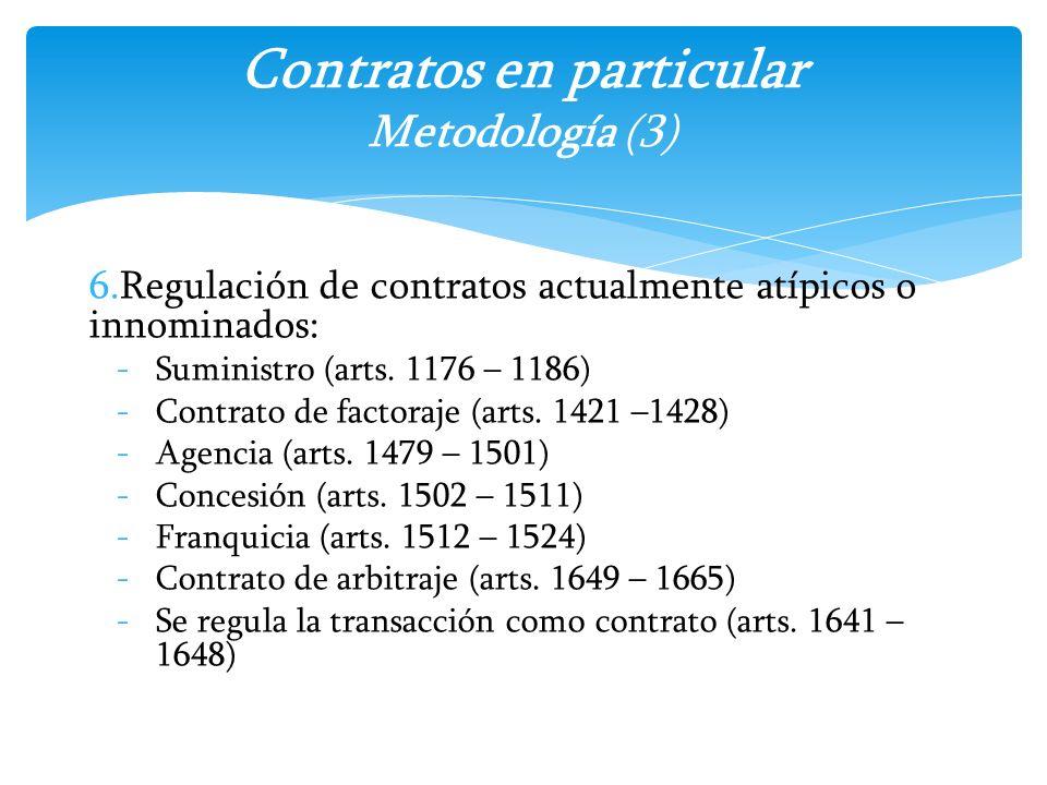 Contratos en particular Metodología (3)