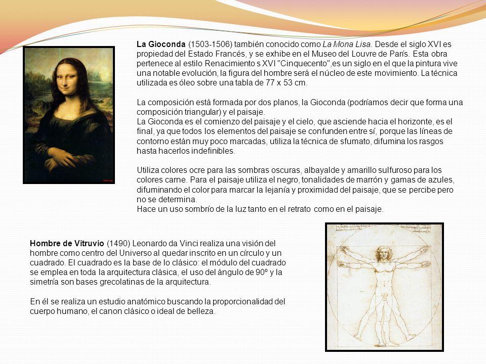 La Gioconda (1503-1506) también conocido como La Mona Lisa