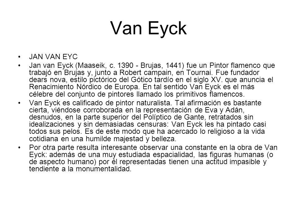 Van Eyck JAN VAN EYC.