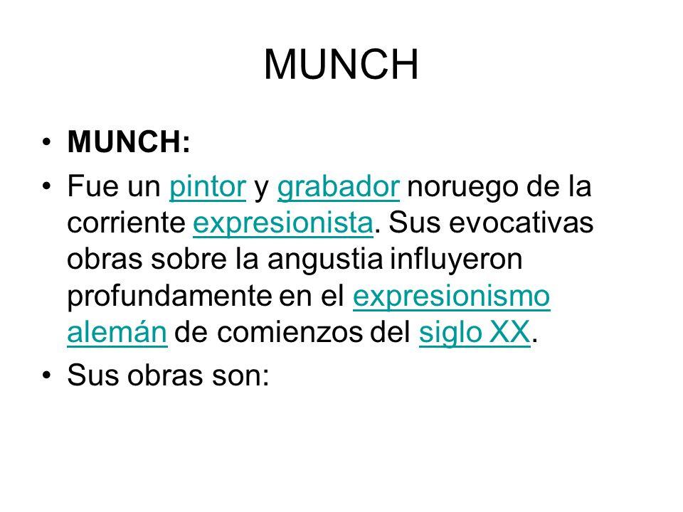 MUNCH MUNCH: