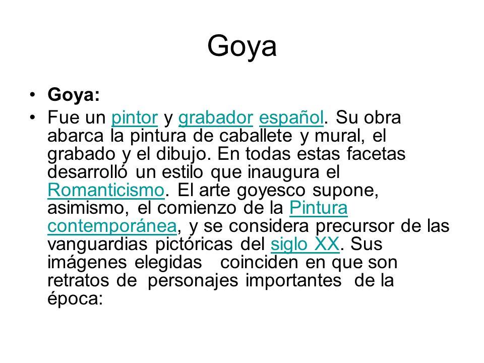 Goya Goya: