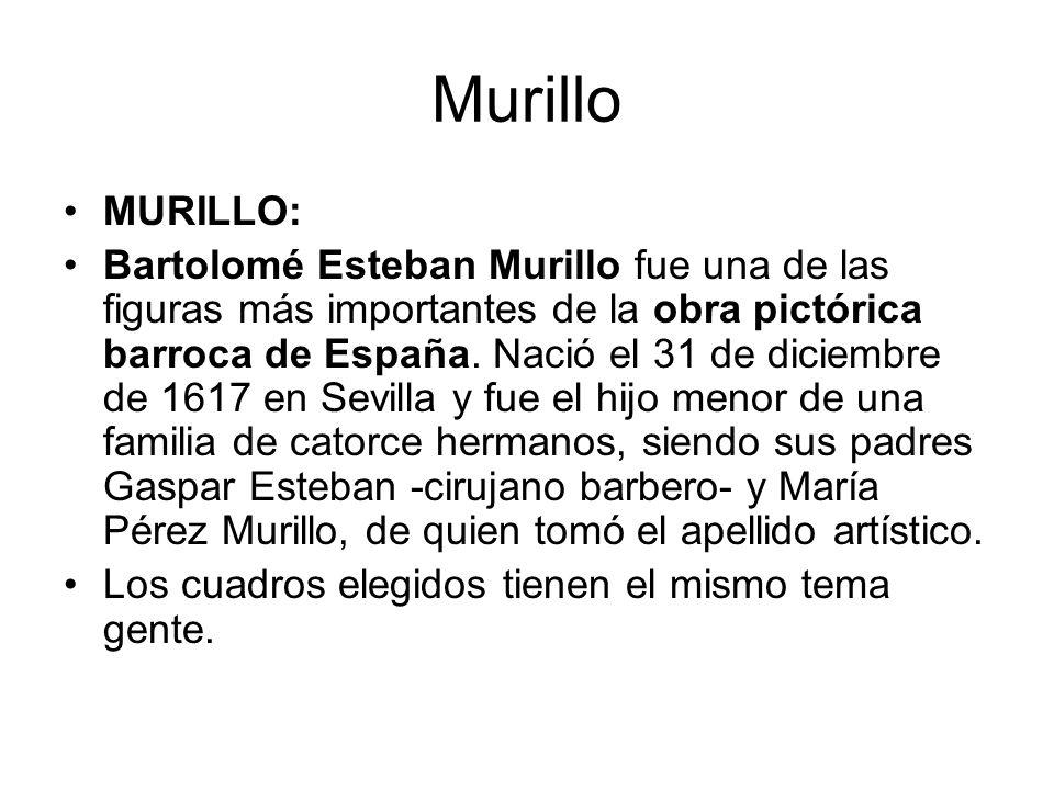 Murillo MURILLO: