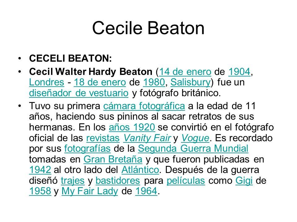 Cecile Beaton CECELI BEATON: