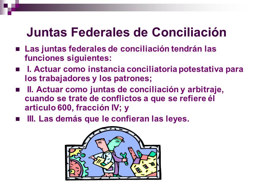 Juntas Federales de Conciliación
