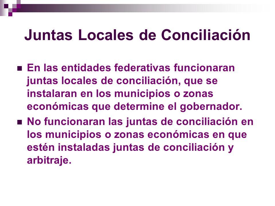 Juntas Locales de Conciliación