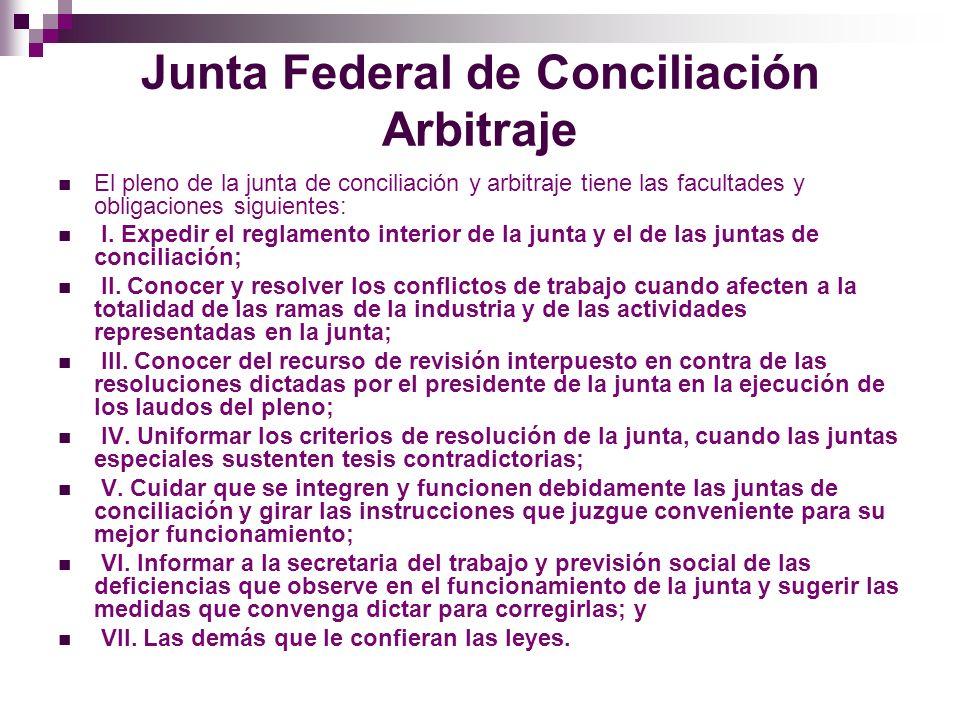 Junta Federal de Conciliación Arbitraje