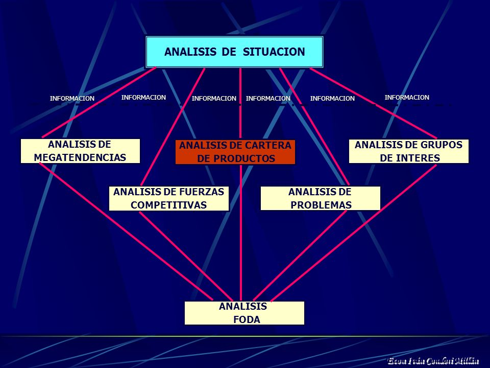 ANALISIS DE SITUACION ANALISIS DE MEGATENDENCIAS ANALISIS DE CARTERA