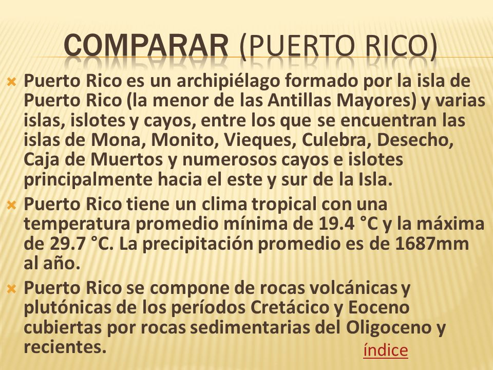 Comparar (Puerto Rico)