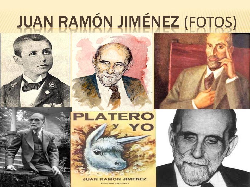 Juan ramón Jiménez (fotos)
