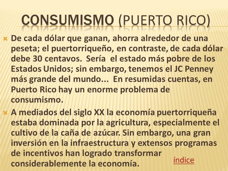 Consumismo (Puerto rico)