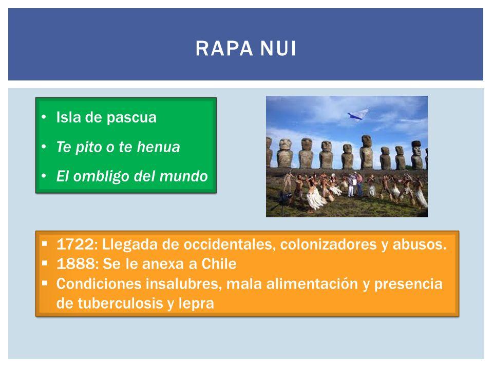 Rapa Nui Isla de pascua Te pito o te henua El ombligo del mundo