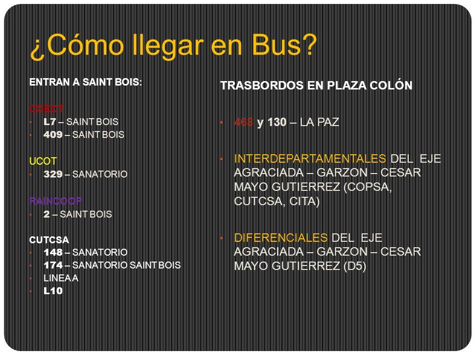 ¿Cómo llegar en Bus TRASBORDOS EN PLAZA COLÓN 468 y 130 – LA PAZ