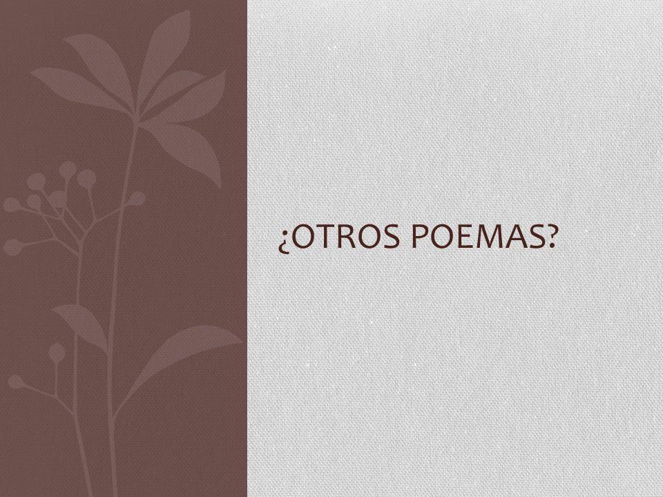 ¿Otros poemas