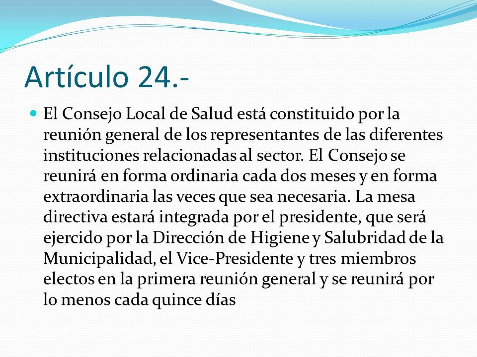 Artículo 24.-