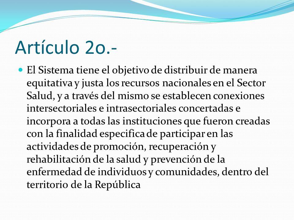 Artículo 2o.-
