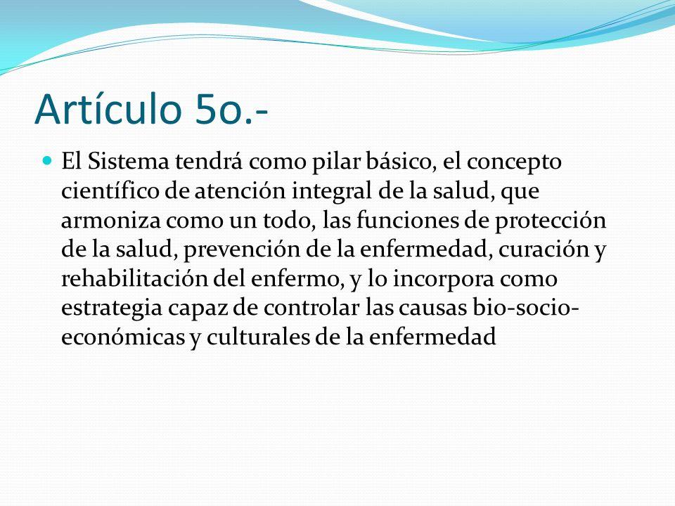 Artículo 5o.-
