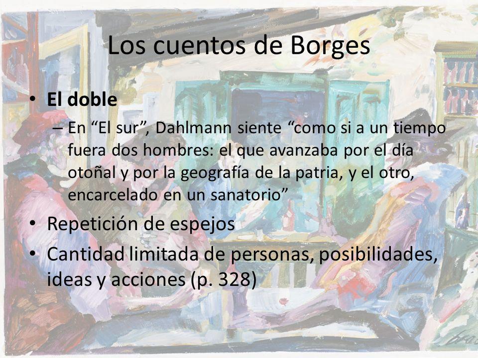 Los cuentos de Borges El doble Repetición de espejos