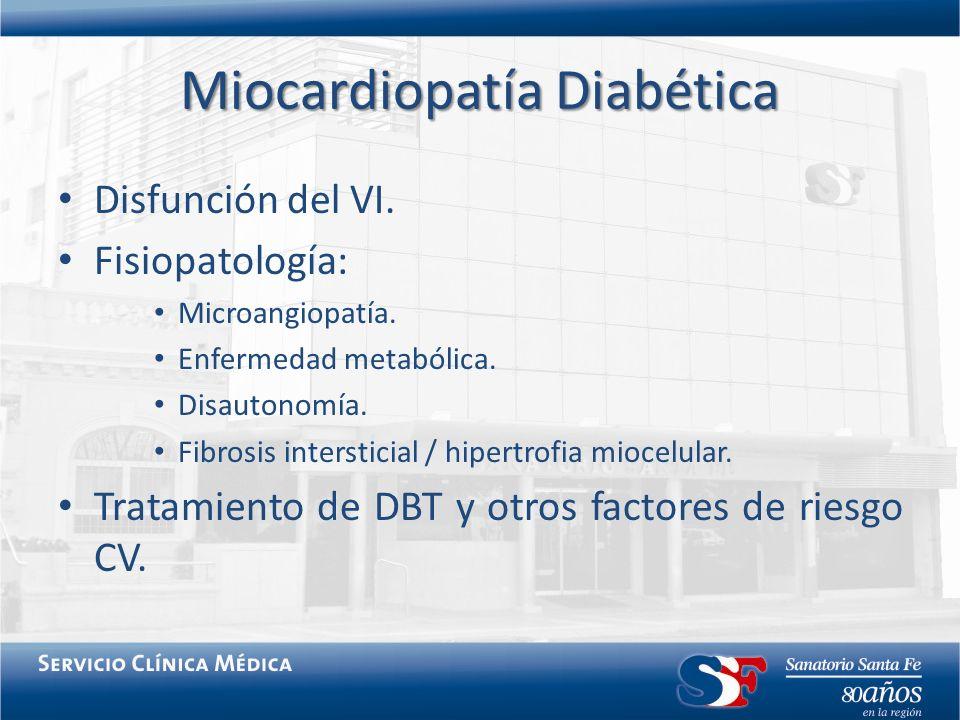 Miocardiopatía Diabética