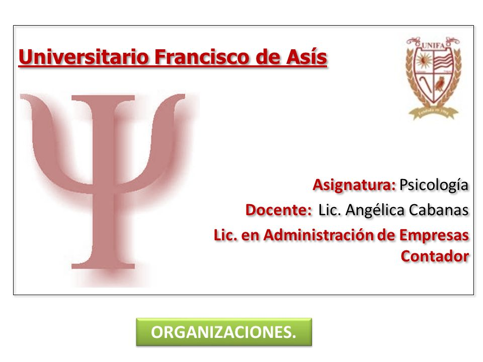 Universitario Francisco de Asís