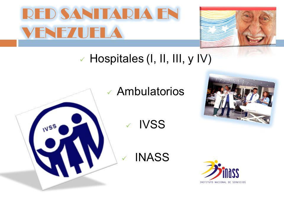 RED SANITARIA EN VENEZUELA