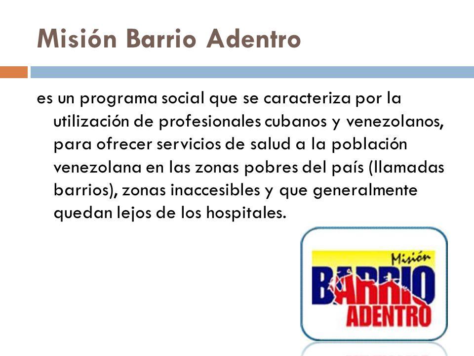 Misión Barrio Adentro
