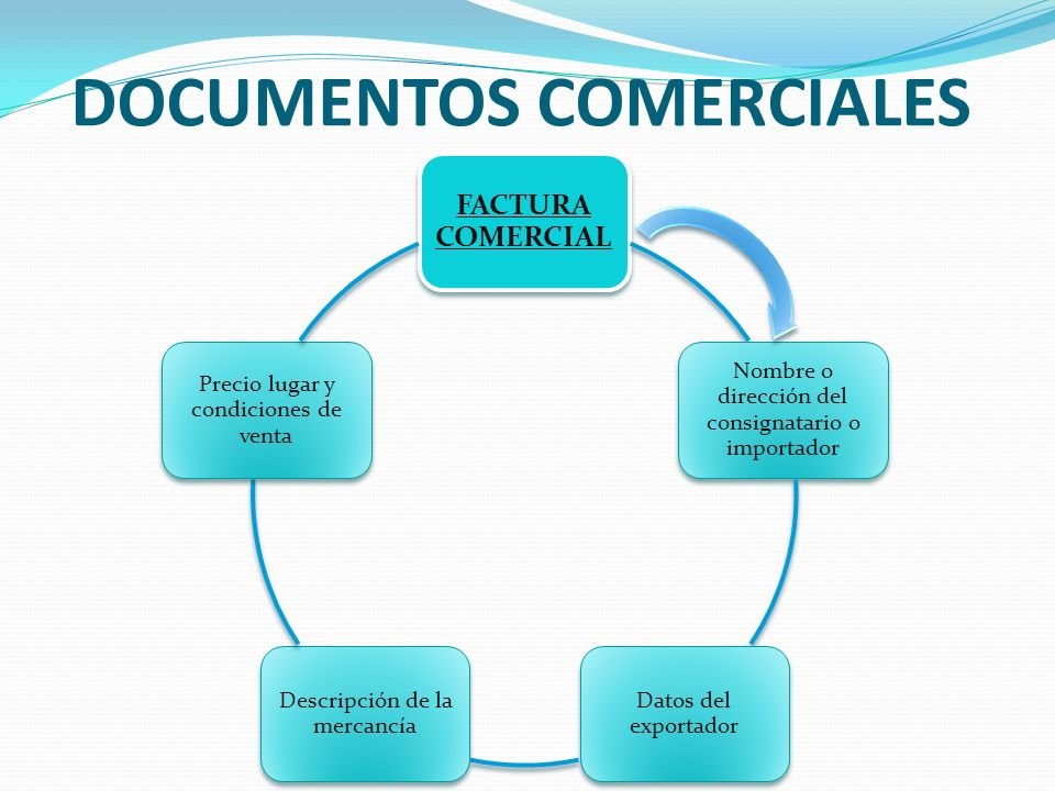DOCUMENTOS COMERCIALES