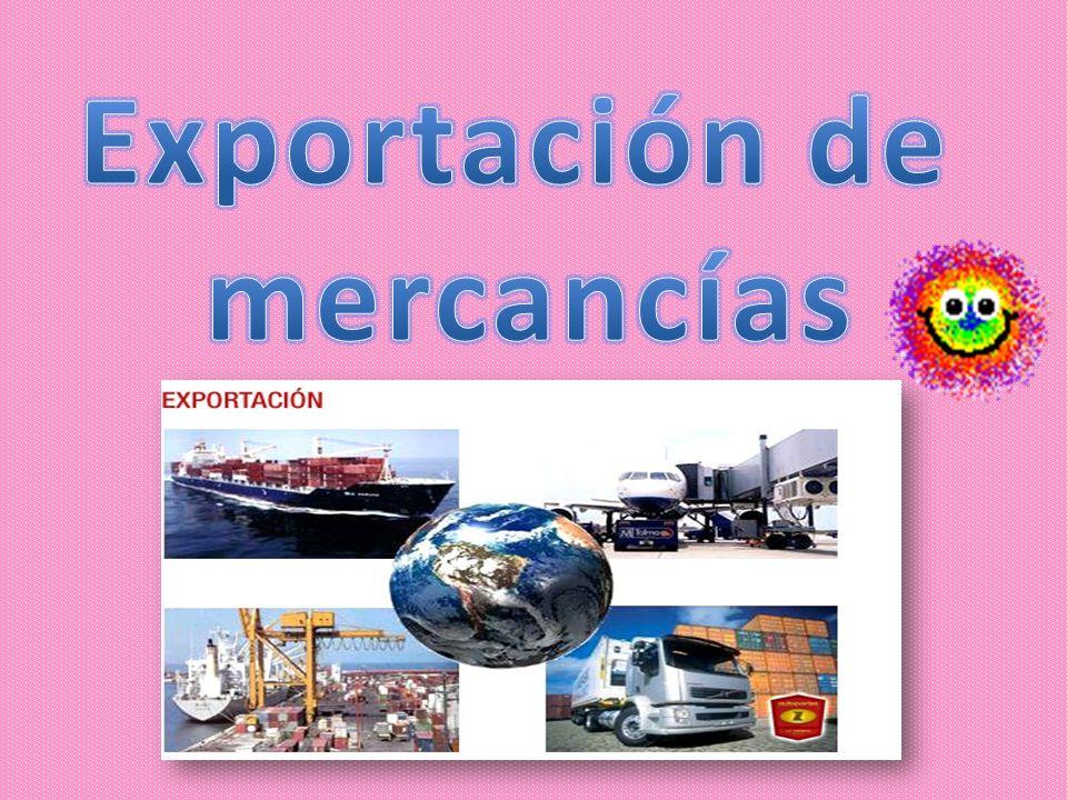 Exportación de mercancías