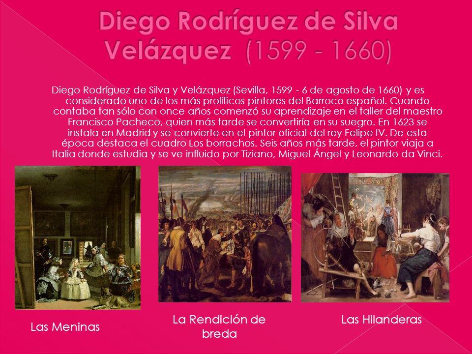 Diego Rodríguez de Silva Velázquez (1599 - 1660)