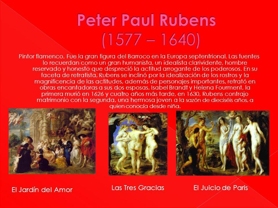 Peter Paul Rubens (1577 – 1640) Las Tres Gracias El Juicio de Paris