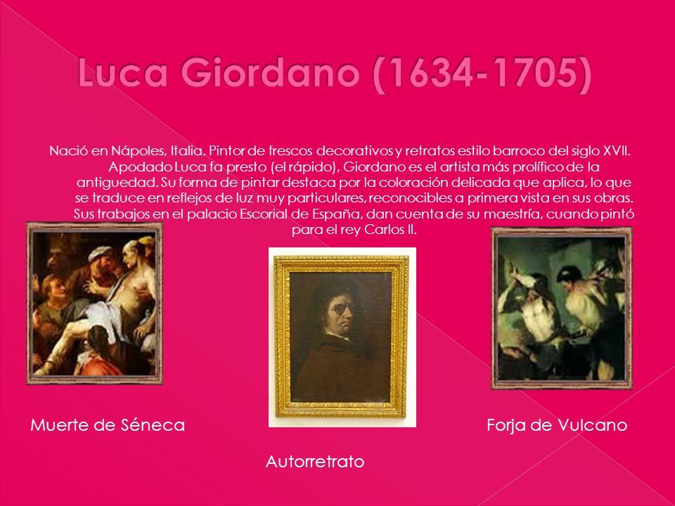 Luca Giordano (1634-1705) Muerte de Séneca Forja de Vulcano
