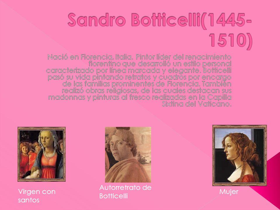 Sandro Botticelli(1445-1510)